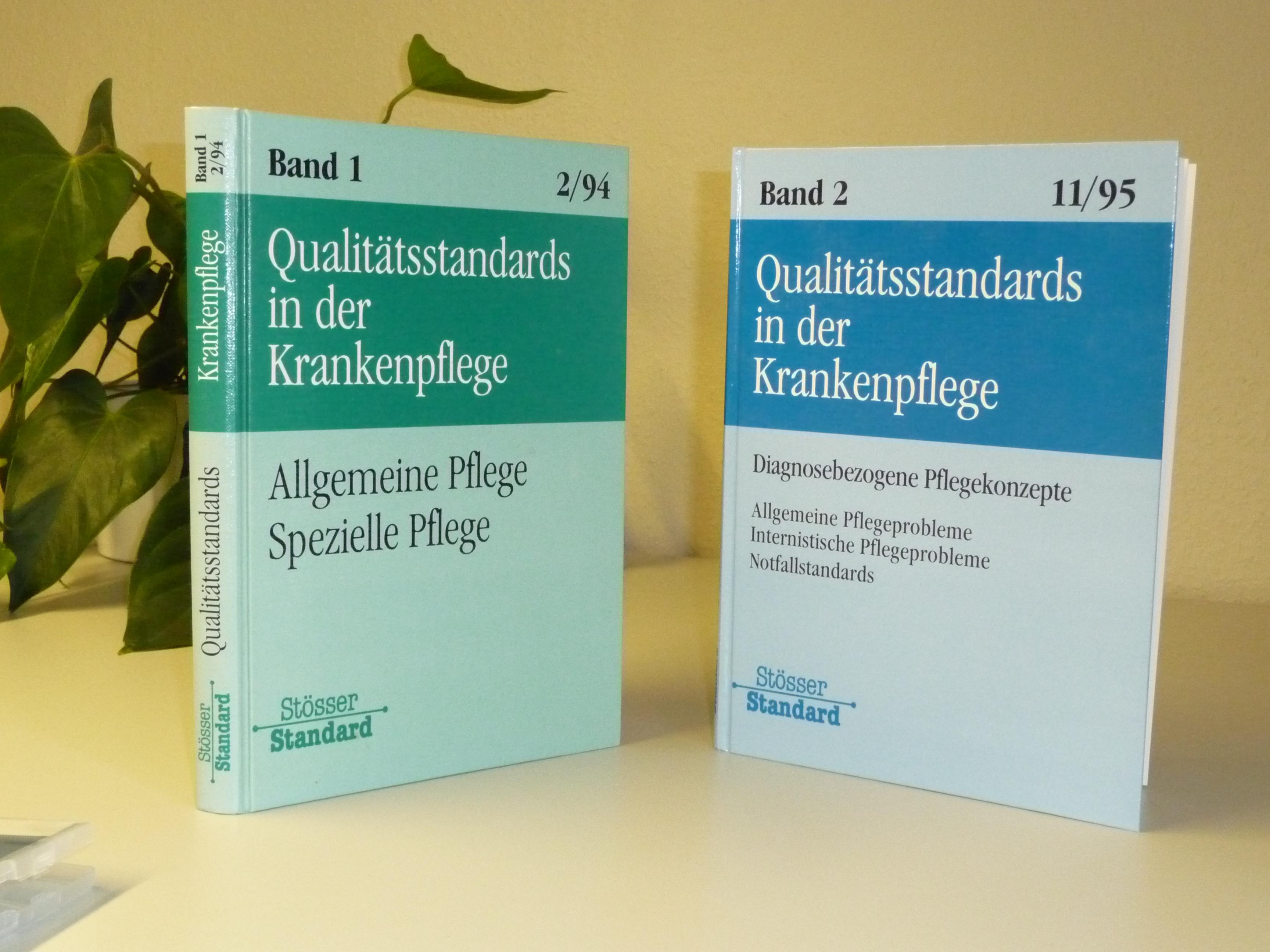 Veröffentlichungen | Pflegen mit Konzept - Stösser Standard